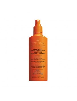 Collistar LATTE SPRAY Superabbronzante Idratante Viso e Corpo SPF15 200ml
