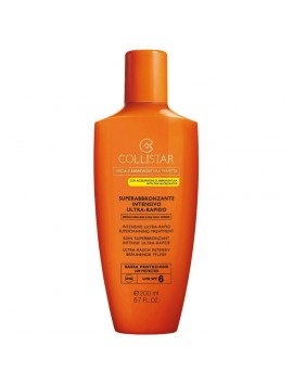 Collistar SUPERABBRONZANTE INTENSIVO Ultra Rapido SPF6 200ml