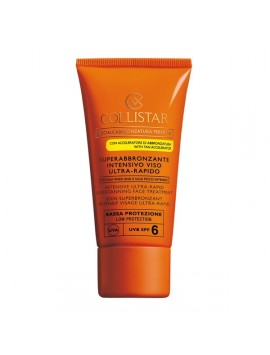 Collistar Superabbronzante Intensivo Viso Ultra-Rapido SPF6 50ml
