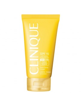 Clinique Sun FACE / BODY CREAM SPF15 with SolarSmart 150ml