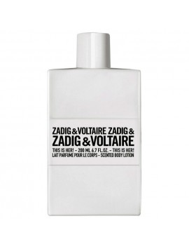 Zadig & Voltaire THIS IS HER Lait Parfume Corps 200ml