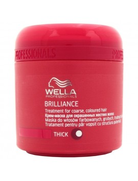 Wella Professional BRILLIANCE Maschera Capelli Grossi 150ml
