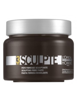 L'Oreal Professionnel HOMME GEL SCULPTE Pasta Rimodellabile 150ml