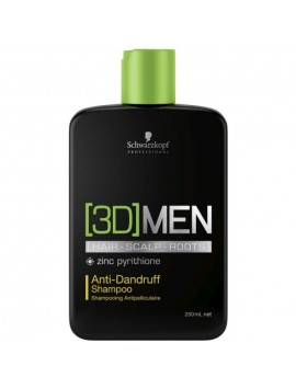 Schwarzkopf 3D MEN Anti Dundruff Shampoo 250ml