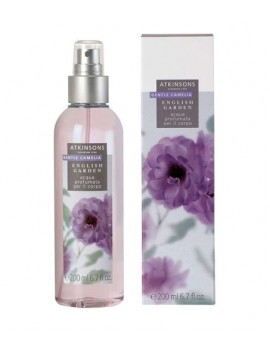 Atkinsons English Garden GENTLE CAMELIA  Acqua Profumata per il corpo 200ml