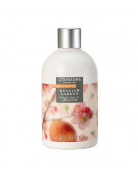 Atkinsons English Garden PEACH FLOWERS Bagno Doccia Addolcente 300ml