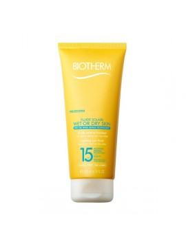 Biotherm Sun Fluide Solaire Wet Or Dry Skin Spf15 200ml