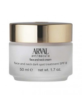 Arval Antimacula Face And Neck Cream Dark Spot Treatment SPF 8 50 ml