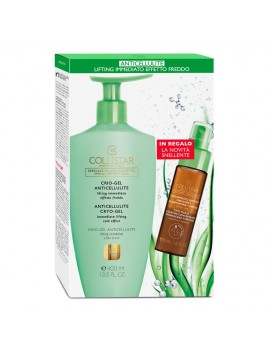 Cofanetto Collistar Crio Gel Anticellulite Lifting Immediato + IN REGALO Attivi Puri Concentrato Bifasico Snellente 50 ML