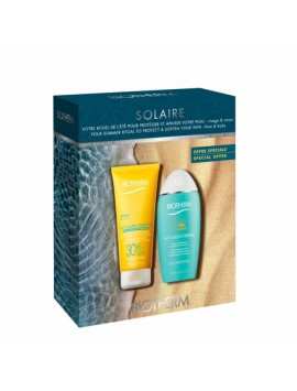 Biothern Sun Kit Lait Solaire Hydratant SPF30 + After Sun Lait Oligo-Thermal