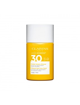 Clarins Fluide Solaire Mineral Visage SPF30 30 ml