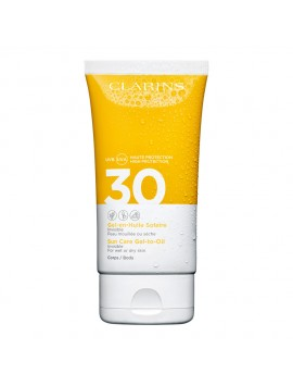 Clarins Gel en Huile Solaire Invisible Corps SPF30 150 ml