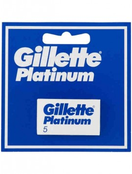 Gillette PLATINUM PLUS X 5 Lame Rasoio 10gr