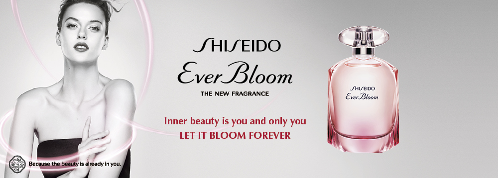 Shiseido Ever Bloom New Fragrance da Cosmesi Italia